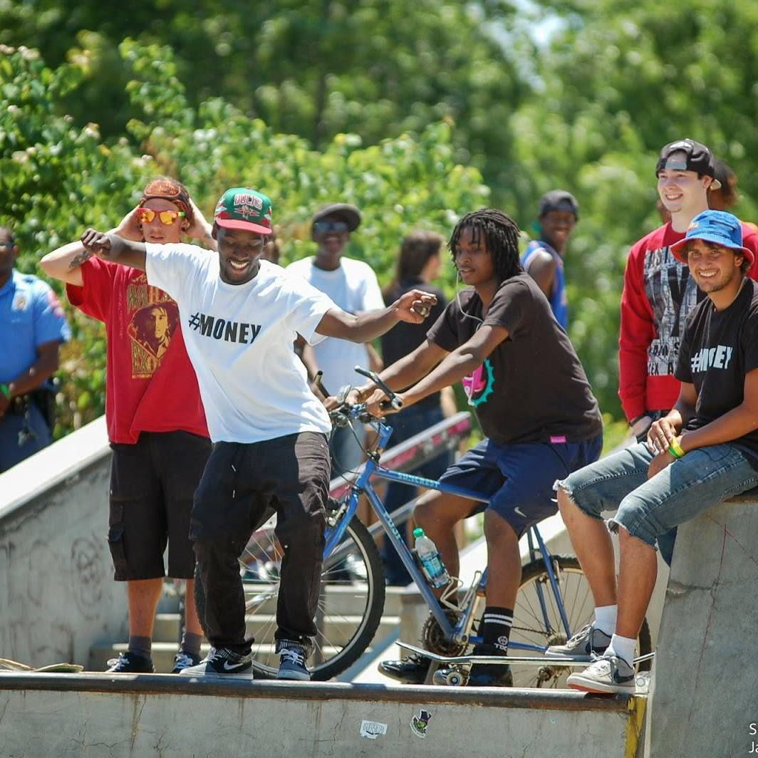 Skaters at the Skate4Life Event