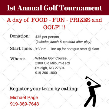 2017 Golf Tournament to Benefit Skate4Life